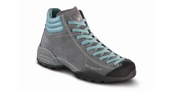 Scarpa Mojito Plus GTX Schoenen Dames grijs/turquoise